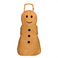 Premier Housewares Gingerbread Man Adult Apron, 86 x 69 x 1 cm Aprons For Sale, Aprons For Men, Publix Recipes, Kids Apron, Man Apron, Tesco Direct, Linen Apron, Apron Pockets, Dining Table In Kitchen