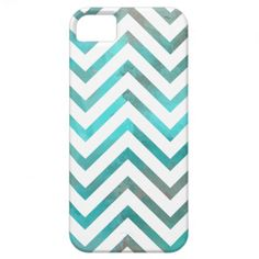 Turquoise White Chevron iPhone 5 Covers #iphone #iphonecase #iphone5 #chevron #zigzag #pattern #iphonecover #turquoise