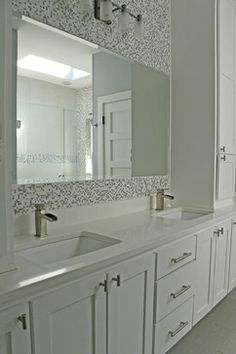 Dallas, TX: Scott & Melissa - modern - bathroom - dallas - Sarah Greenman