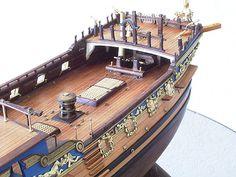 ロイヤルキャロライン(Royal Caroline) 帆船模型 製作過程