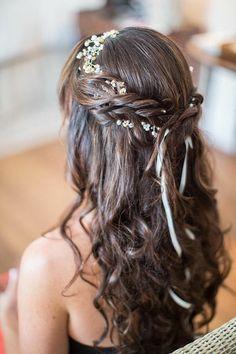 Neue Frisuren Hochzeit Halben Lange Haare 2018 -  #2018 #Frisuren #Haare #Halben #Hochzeit #lange #Neue