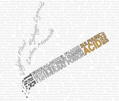 """""""Got a Light"""" is an illustration that uses typography created by Canadian artist. Ingredients used in cigarettes are lightly printed the background while the rest of the ingredients and chemicals used create the shape of the cigarette. This is a creative way to show people how one cigarette can contain so many deadly ingredients. See other works: http://www.1stwebdesigner.com/inspiration/awesome-typography-examples/"""