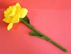 Ravelry: Daffodil Flower pattern by Melbangel
