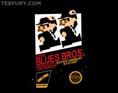 Super Blues Bros by jango39 - Shirt sold on October 12th at http://teefury.com