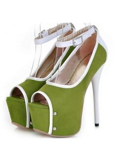 Amazing Peep Toe Ankle Strap Suede Plus Size Edging Sandals Shoes Heels  Boots 58c0ceb9c8ed