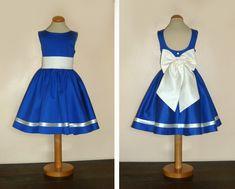 des cortèges variés en modèles et en couleur ... robe Valérie en satin de coton…