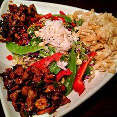 Houlihan's Chicken Asian Chop Chop Salad
