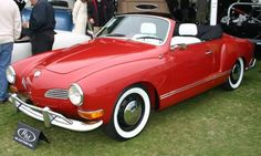 1970 VW Karmann-Ghia Convertible Coupe ♥ I had a 68; not as pretty:)