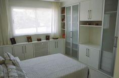 Meu Mini Apê: Inspiração: decoração quarto de casal pequeno.