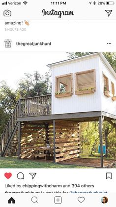 I love this backyard playhouse. - Heike Lafery - I love this backyard playhouse. I love this backyard playhouse.
