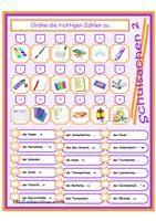 Bildwortschatz_Schulsachen 2