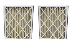 2 20x25x5 Ultravation Pleated HVAC Filters, MERV-8 Rating | Part # 91-006