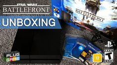 UNBOXING - Playstation 4 Star Wars Battlefront (Standard Edition Português)