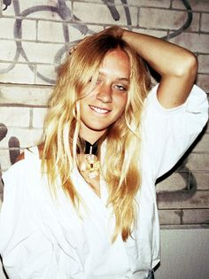 Chloe Sevigny always one to watch, always tres dope. Defining boho chic.