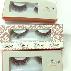 Mink strip eyelashes 100% mink cruelty free strip lashes. You can reuse them at least over 10 wears! Other