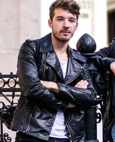 Causal Outfit Leather Jacket For Men