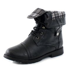 Amazon.com: West Blvd Womens Lagos Combat Boots: Grey Military Boots: Shoes