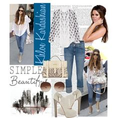 khloe kardashian fashion style | fashion look from June 2012 featuring Current/Elliott jeans ...