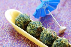 Seattle Style Spinach Balls by woodfiredkitchen #Spinach_Balls #woodfiredkitchen