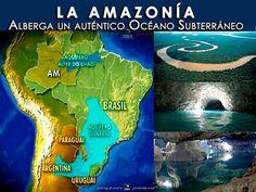 """""""ORO AZUL"""" BAJO LA SELVA... El tesoro que esconde la #Amazonía. LA AMAZONÍA ALBERGA UN AUTÉNTICO OCÉANO SUBTERRÁNEO... La Amazonia posee una reserva de agua subterránea con un volumen calculado en más de 160 billones de metros cúbicos, de acuerdo con la estimación de Francisco de Assis Matos de Abreu, docente de la Universidad Federal de Pará (UFPA), dada a conocer durante la 66ª Reunión Anual de la Sociedad Brasileña para el Progreso de la Ciencia (SBPC), que culminó el pasado 27 de julio…"""