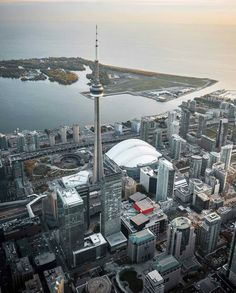 CN Tower and Rogers Centre Toronto Canada Toronto City, Great Places, Places To See, Scarborough Toronto, Cityscape Wallpaper, Rogers Centre, Canada Holiday, Places Worth Visiting, Canada Eh