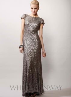 Sequinned Cap Sleeve