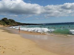 Little Beach (nude beach on Maui)  i wasn't ballsy enough though!  ...and i guess that guy wasn't either haha