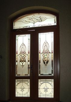 Pooja Room Door Design, House Gate Design, Door Design Interior, Main Door Design, Front Door Design, Stained Glass Door, Stained Glass Designs, Sliding Glass Door, Glass Film Design