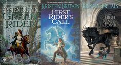 Kristen Britain. Can't wait for the 5th book to come out next Feburary!