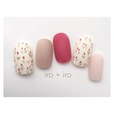 Having short nails is extremely practical. The problem is so many nail art and manicure designs that you'll find online Cute Nail Art, Cute Nails, Flower Nail Art, Art Flowers, Dream Nails, Trendy Nails, Spring Nails, Summer Nails, Nails Inspiration
