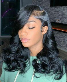 Cute Bob Hairstyles, Baddie Hairstyles, Elegant Hairstyles, Black Women Hairstyles, Weave Hairstyles, Short Sew In Hairstyles, Mom Haircuts, Drawing Hairstyles, Hairstyles Videos