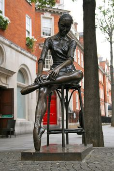 Covent Garden, London - I've worked with the Australian dancer who modelled for this. :)