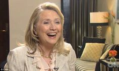 'I haven't got time to worry about make-up,' says Hillary Clinton as she hits back at critics of her fresh-faced look  'It's not something that deserves a lot of time and attention'