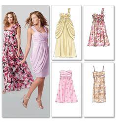 Strapless Dress Pattern Wedding Dress Pattern by YourSewingBasket Formal Dress Patterns, Wedding Dress Patterns, Bridesmaid Dresses, Prom Dresses, Formal Dresses, Summer Dresses, Dress Prom, Dress Long, Bridesmaids