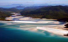 """Whitehaven Beach, AU - """"Dream Of Paradise"""" by Guy Cohen, via 500px"""