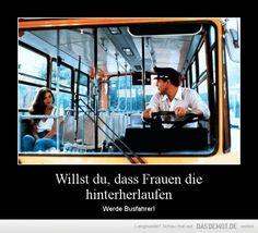 Werde Busfahrer!