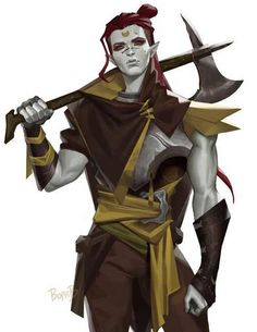 Art featuring fantasy orcs of all sorts. Fantasy Character Design, Character Creation, Character Concept, Character Inspiration, Character Art, Dungeons And Dragons Characters, D D Characters, Fantasy Characters, Dungeons And Dragons Races