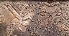 Dendera Zodiac. Louvre, Paris, France / Egypt.