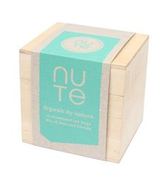 Mix of teas and blends from Nute. 10 different teabags. Nutes exclusive organic teas are beautifully packaged in wooden boxes. Their teas combines ancient tea traditions with modern flavors and blends influences from the Far East and Wooden Boxes, Decorative Boxes, Bags, Products, Wood Boxes, Handbags, Wooden Crates, Decorative Storage Boxes, Bag