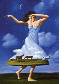 Rafal Olbinski - this is fun