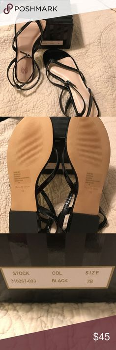Victoria Secret Size 7 anklet sandal Black anklet sandal , brand new with box! Super cute and perfect timing for the spring season! No trades, can ship today 😊 Victoria's Secret Shoes Sandals
