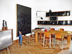 Barcelona apartment with Prouvé, Mouille & Perriand | Plastolux