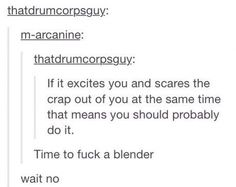 Blenders are not that sexy