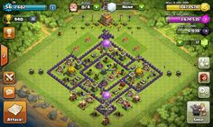 My base farming th 7