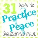 31 Days to Practice Peace.  the whole shebang