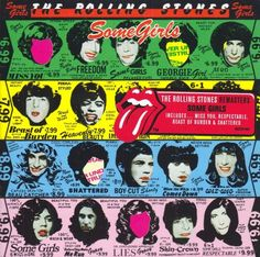 The Rolling Stones - Seems I need to change the board name. I am finding sleeve art I love which will be very helpful for a logo project. Nice stuff. I love Pinterest for research.