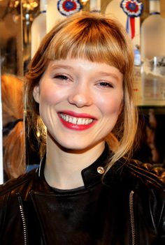 Lea Seydoux Actress Lea Seydoux attends the Grey Goose Christmas Boutique Opening on December 1, 2010 in Milan, Italy.