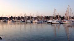 Port de Capbreton #landes #capbreton #harbor #sunset