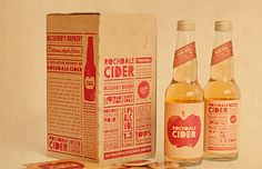 Rochdale Cider designed by Supply