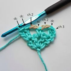 Pineapple stitch crochet is full of vintage elegance. Learn how to crochet the pineapple stitch with this tutorial from Oombawka Designs. Crochet Heart Blanket, Crochet Squares, Crochet Blanket Patterns, Crochet Stitches, Stitch Patterns, Knit Crochet, Granny Squares, Crochet Patterns Free Women, All Free Crochet